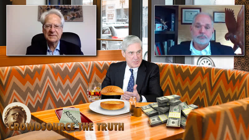 Mueller Orders Most Expensive Nothing Burger Ever with Special Guests Larry Klayman Kevin Shipp