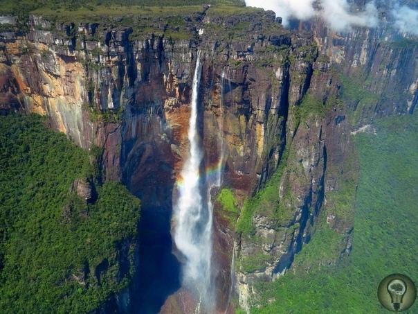 Водопад Анхель, Венесуэла Это самый высокий водопад в мире, его высота около 1000 метров