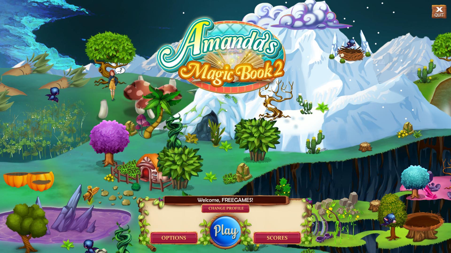 Волшебная Книга Аманды 2 | Amanda's Magic Book 2 (En)