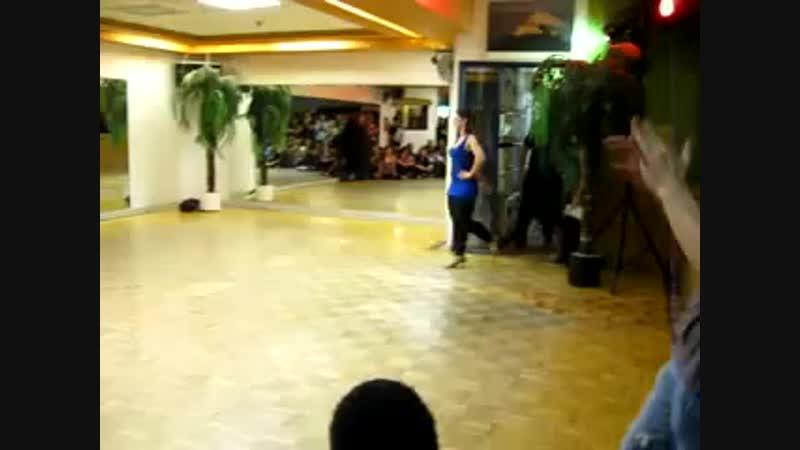 Шоу хорео класса в танцевальной школе Сан Тропез (Монреаль) Апрель 2010