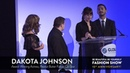 DAKOTA JOHNSON | 2018 BE BEAUTIFUL BE YOURSELF FASHION SHOW