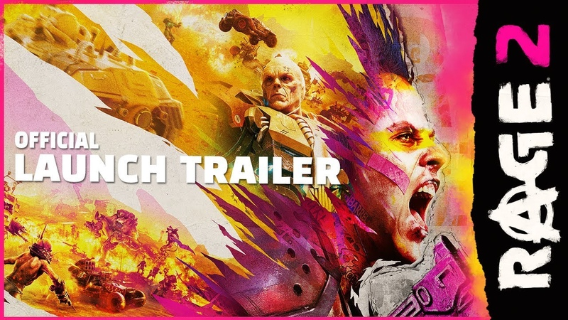 RAGE 2 – Official Launch Trailer PEGI