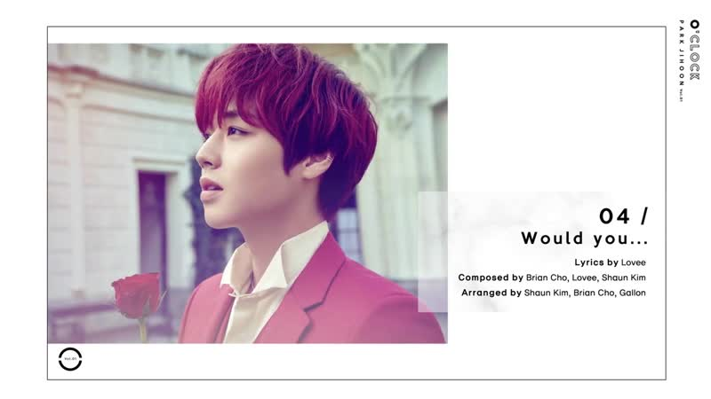 박지훈(PARK JIHOON) [O'CLOCK] Album Preview