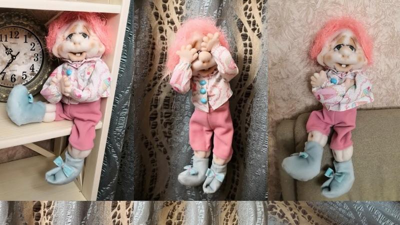 Хорошулька. Кукла-обнимашки из колгот. Мастер класс.