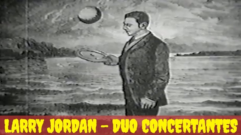 Larry Jordan - Duo Concertantes. 1964г | Психоделическая анимация