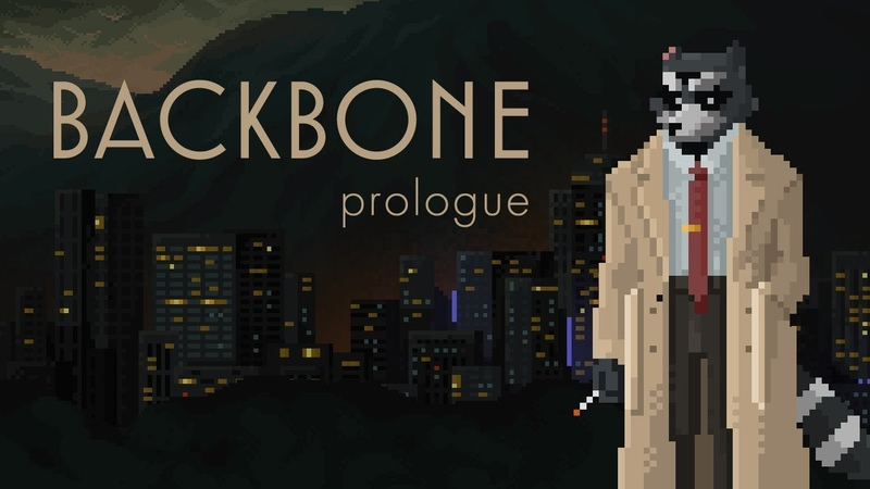 Backbone Prologue - Dystopian Pixel Art Noir Adventure | Out now on Steam!