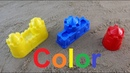 Learn Colors for Children sand molds Finger Family Song Nursery Rhymes towers