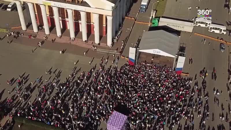 Концерт в День России 2019 Петрозаводск Карелия Дария Гроссман Вирус