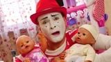Funny videos &amp kids show Babysitter for baby dolls