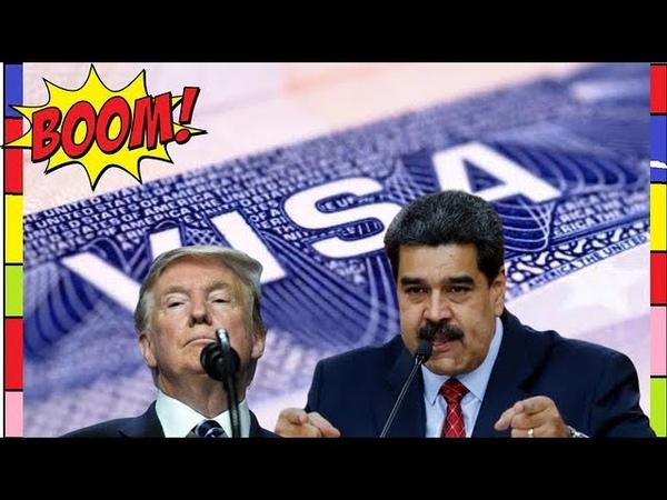 Les États-Unis retirent les visas de 340 citoyens vénézuéliens | Monde 24h
