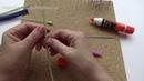 МК Цветущий лен часть 3 Бутоны и листья