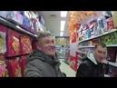 Пекин. Большой супермаркет. Без монтажа. Китайское путешествие