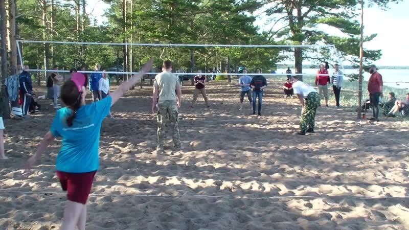 Волейбольный турнир Полуфинал