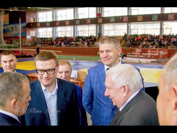 Дзюдоисты из Гамбурга на турнире памяти Сумина в Челябинске