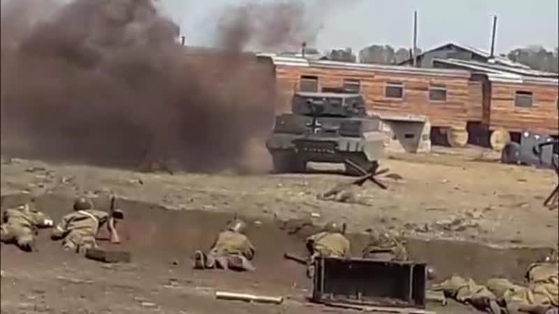 12 мая 2019 - Реконструкция сражения под Прохоровкой