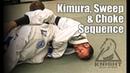 Jiu Jitsu Submissions Kimura Sweep Choke Sequence