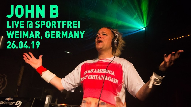 John B @ Sport Frei! 6 - E Werk Weimar