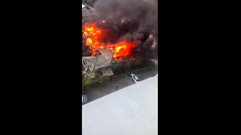 Пожар на Лизы Чайкиной