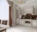 #zolotoe_sechenie68 🔸Дизайн интерьера🔸архитектура🔸ландшафт🔸  .  Кухня - гостиная 31 м2 в современной