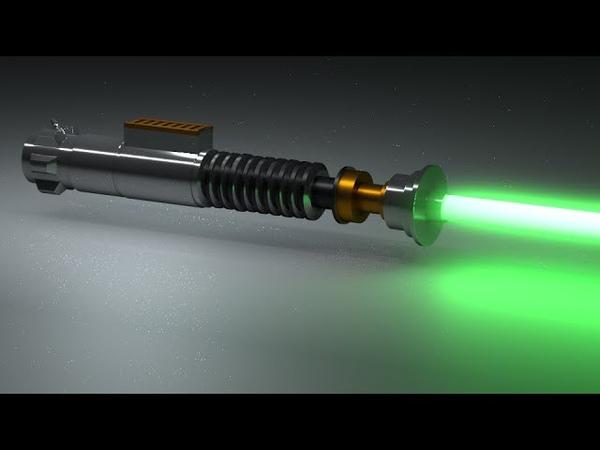 Blender Lightsaber Tutorial - Materials Node Editor