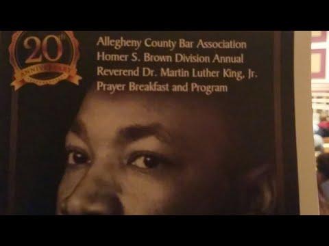 Allegheny County Bar Association's Homer S Brown MLK Program