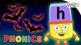 Phonics - #Halloween Season Learn to Read H Is for Halloween Alphablocks Wizz