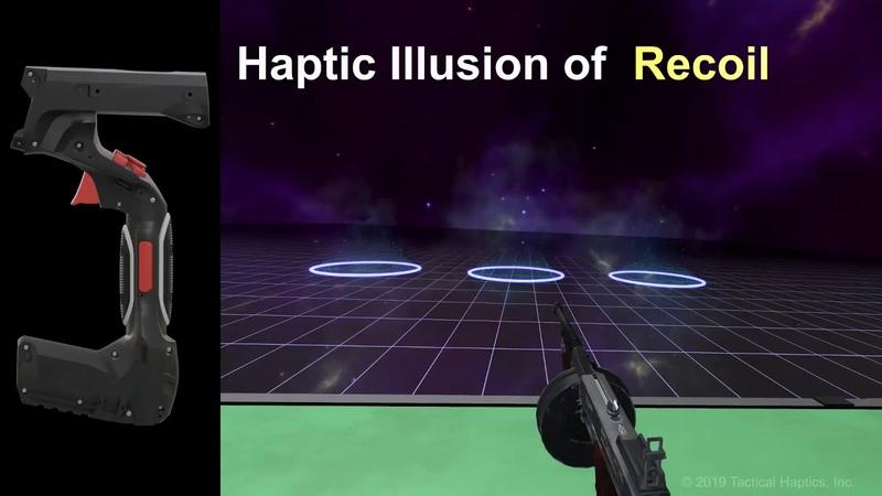 VR-magazine | @NewsVR Tactical Haptics открыла предзаказ на контроллеры Reactive Grip