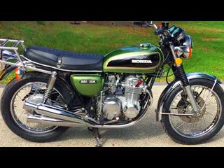 Мотоцикл honda cb550 four, 1975 года