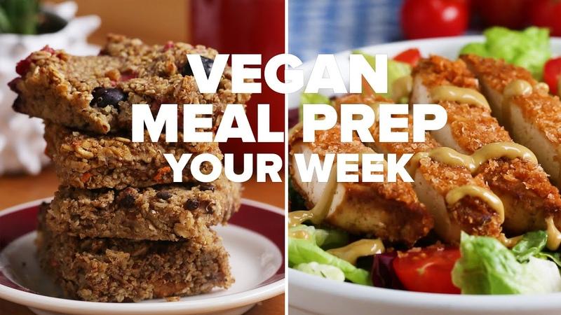 Tasty Vegan Meal Prep For Your Entire Week • Tasty