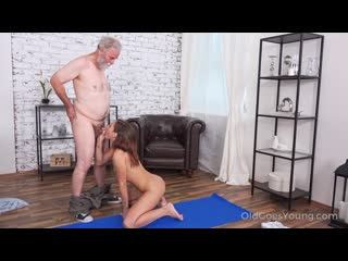 [OldGoesYoung.com] Mina [Old and Young, Hardcore, Teen, Blowjob]