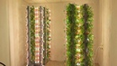 Эффективная аэропонная установка Аэро Флора для круглогодичного выращивания растений в помещениях