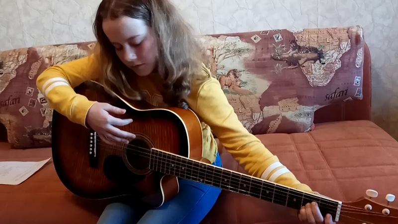 Школа гитары Результат в СПб. Результаты учеников. Второе занятие.