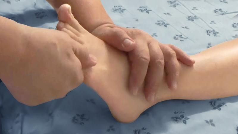 Массаж стопы и голени при болях в ногах Рефлекторное воздействие на внутренние органы