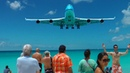 St Maarten landing Boeing 747