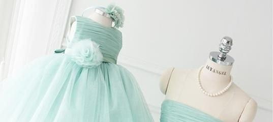 2031a242e45 Мятное платье комплект мама и дочка напрокат   Ucato - доска объявлений  аренды и проката в городе Уфа..