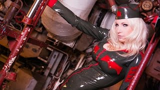 Latex submarine captain   Susan Wayland