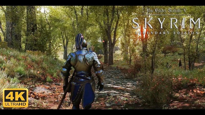 Skyrim LE Ultra Modded 4K Best Next Gen Graphics w Modlist