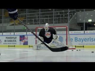 ХОККЕЙ БЛОГ 92. Rookie Kevin Reich - Der EHC Red Bull München Goalie in seiner ersten DEL Saison - Breaking the Ice