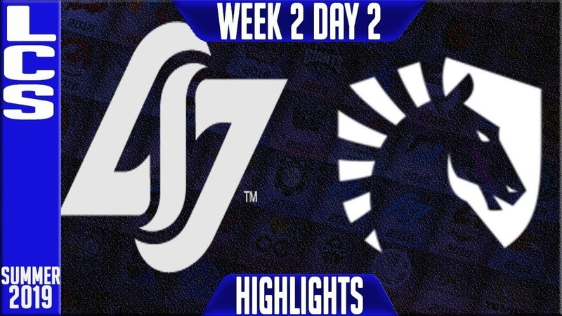 CLG vs TL Highlights LCS Bắc Mỹ Mùa hè 2019 CLG vs TL Highlights LCS Summer 2019 Week 2 Day 2