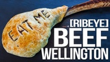 Beef Wellington (with a 3lb Tomahawk Ribeye!) SAM THE COOKING GUY 4K