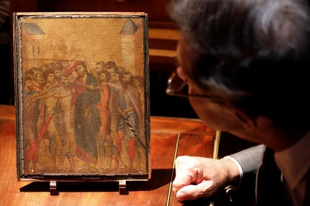 Как на кухне нашли 6 000 000 евро. Пожилая француженка из Компьена решила оценить маленькую картину, которая висела у нее на кухне. Выяснилось, что это давно потерянная работа флорентийского