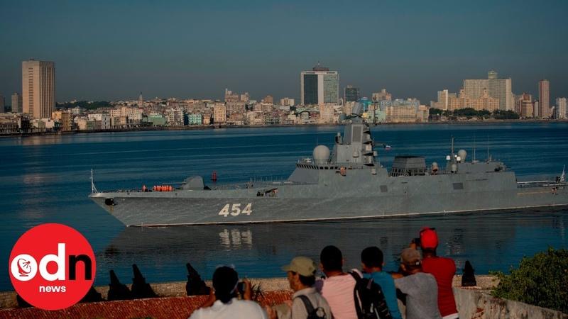 Russian warships enter Havana Harbour on official visit