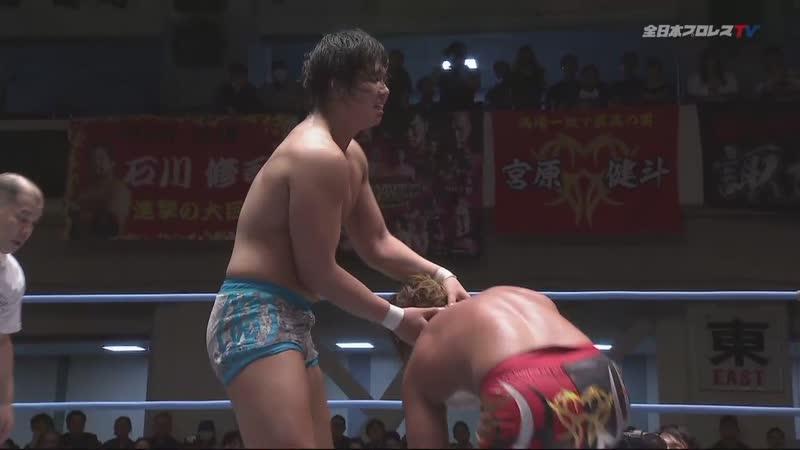 Jake Lee vs. Kento Miyahara (AJPW Champion Carnival 2019 Final - Day 18)