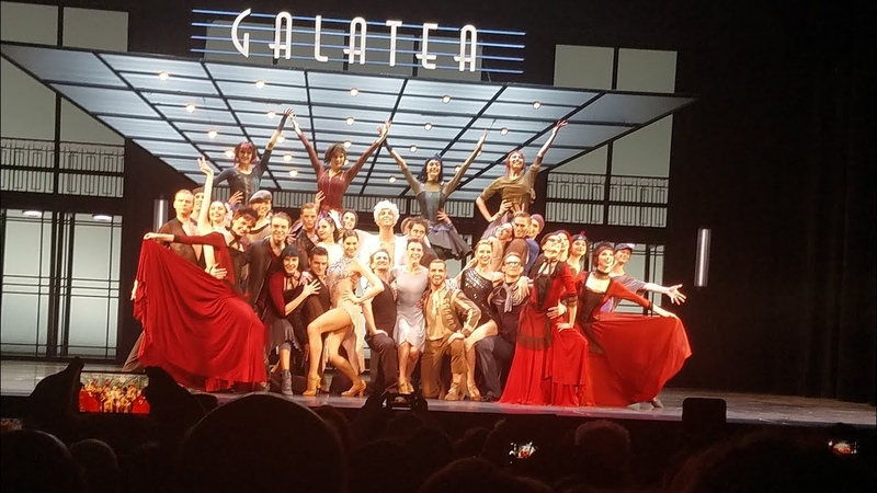 Eifman very end of ballet Galatea in NYC