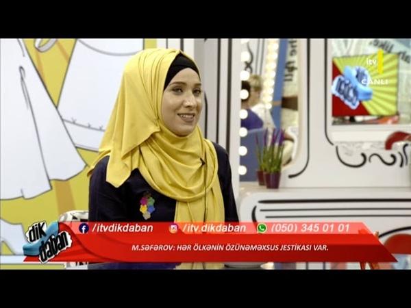 Vayner Mahmud Səfərov İTV kanalında Dikdaban verlişində