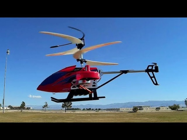 JJRC JX02 Beginner's 4 Channel RC Helicopter Flight Test Review