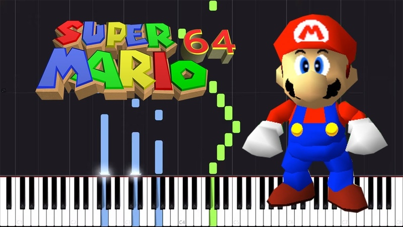 Dire, Dire Docks - Super Mario 64 [Piano Tutorial] (Synthesia) Torby Brand