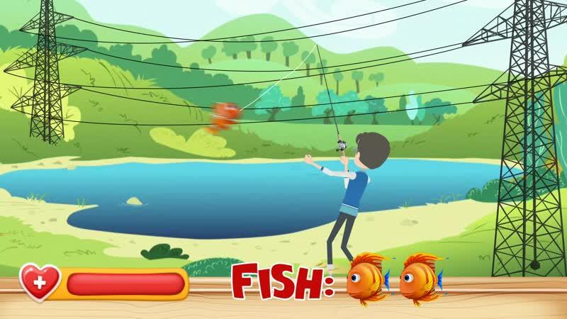 Рыбалка под ЛЭП смертельно опасна!