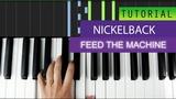 Nickelback - Feed The Machine - Piano Tutorial - MIDI File Download