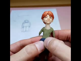 Weasley (Harry Potter)- Polymer Clay Tutorial